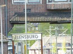 Eisenbahn und Eisenbahnanlagen in Flensburg, Schleswig-Holstein. (Götz Wiedenroth • www.wiedenroth-karikatur.de) Tags: flensburg eisenbahn schiene gleis