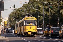 Tatra T4D-MT 224 277 (rengawfalo) Tags: tram tramway dresden tatra t4d sachsen saxony strasenbahn train railroad bahn dvbag tranvia tramvaj ckd elektricka öpnv tramwaj sporvogn road car tree city building
