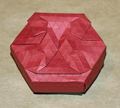 City street tessellation box (mganans) Tags: origami tessellation box