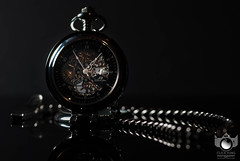 A Moment in Time. (Click King Photography) Tags: pocketwatch watch metal dark black object product nikon sigma stilllife