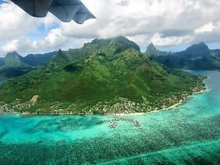 The Island of Bora Bora, French Polynesia