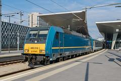 480 016-9 MÁV H-START Wien Hbf 29.07.18 (Paul David Smith (Widnes Road)) Tags: 480 0169 máv hstart wien hbf 290718 4800169 hauptbahnhof