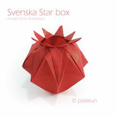 svenska star box (polelena24) Tags: origami onesheet box square basket
