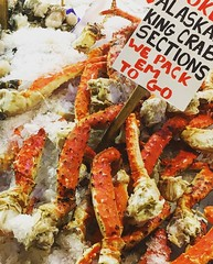 Seattle (mademoisellelapiquante) Tags: pacificnorthwest seattle washington pikeplacemarket seattlepublicmarket seafood