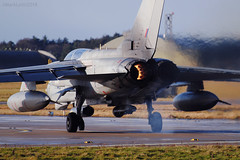 Royal Air Force, Tornado GR4, ZD715 / 083. (M. Leith Photography) Tags: raf lossiemouth moray scotland royal air force jet panavia tornado gr4 sunshine side aviation photography mark leith nikon lossie morayshire scottish