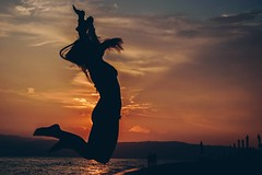 Cause all I do is... (gxomalis) Tags: sunset sun summer sunlight jump silhouette photography nikongreece nikond5300 nikonphotography nikon greece greek fun girl macedoniagreece makedonia macedoniatimeless macedonian macédoine mazedonien μακεδονια македонијамакедонскимакедонци