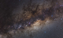 A More Detailed View than Usual of The Milky Way (geekyrocketguy) Tags: milkyway tracker ioptron galaxy astronomy galacticcenter