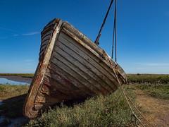 Old Fishing Boat (davepickettphotographer) Tags: thornham norfolk westnorfolk east england uk boat fishingboat coast coastline