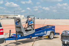 Recoil: Seat Belt Convincer, State Patrol (Charles G. Haacker) Tags: trucks trains planes automobiles tractors fireengines firefighters stearman airfield