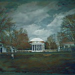 Charlottesville  - Virginia - The University of Virginia - The Lawn -  The Rotunda thumbnail