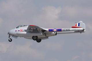 LN-DHY De Havilland DH100 Vampire FB.5 EGVA 14-07-18