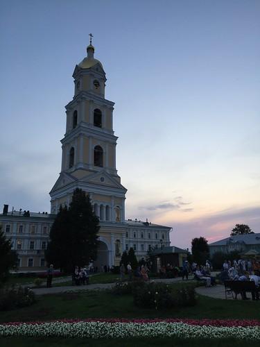 Колокольня Серафимо-Дивеевского Троицкого монастыря