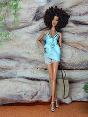 """Sea Foam"" (Levitation_inc.) Tags: ooak doll dolls clothes handmade fashion fashions royalty nuface integrity toys levitationfashion etsy barbie barbiestyle poppy parker summer boho 2018"