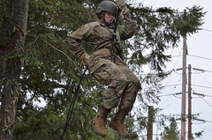 OCS Phase 3 2018 Confidence and Rappel Course (Washington National Guard) Tags: us army national guard officer candidates arizona california illinois indiana kansas michigan minnesota missouri new mexico oklahoma oregon texas washington wisconsin waarng consolidated ocs phase iii joint base lewismcchord north fort lewis jblm 205th regiment 122nd public affairs operations center paoc