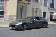 Ferrari FF (Monde-Auto Passion Photos) Tags: voiture vehicule auto automobile ferrari ff four berline gris grey sportive supercar rare rareté france fontainebleau