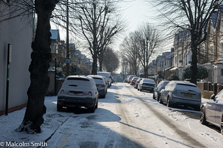 Queen's Grove Road Snow