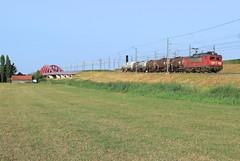 DB Cargo 1611 @ Hattem (Sicco Dierdorp) Tags: db dbc cargo serie1600 unitcargo onnen kijfhoek ketelwagen keteltrein zwolle veluwelijn amersfoort wezep hattem hattemerbroek hanzeboog ijsselbrug ijssel