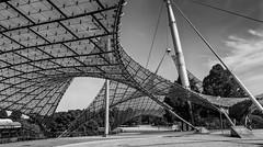Architektur / architecture (ludwigrudolf232) Tags: architzektur olympiagelände münchen ottofrei behnisch olympiade1972 fusballweltmeisterschaft1974