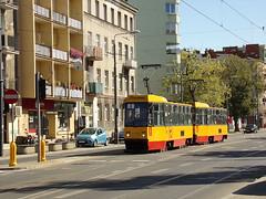Konstal 105Na, #1348+1347, Tramwaje Warszawskie (transport131) Tags: tram tramwaj tw warszawa ztm warsaw wtp konstal 105na