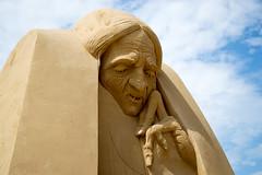 Sandskulpuren Waterfront 06 (akumaohz) Tags: nikon d3200 deutschland germany bremen waterfront sand skulptur sculpture drausen outside hänsel und gretel hexe witch