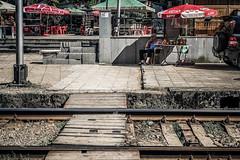 Court system (Melissa Maples) Tags: batumi batum ბათუმი adjara აჭარა georgia gürcistan sakartvelo საქართველო asia 土耳其 apple iphone iphonex cameraphone spring მწვანეკეპი mtsvanecape ბოტანიკურიბაღი botanicalgarden traintracks railroadtracks railway tracks