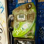 Green payphone, Chiang Mai, Thailand thumbnail