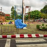 Cloudy Morning at Chang Pruk Gate, Chiang Mai, Thailand thumbnail