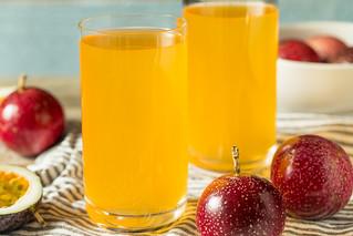 Sweet Yellow Passion Fruit Juice
