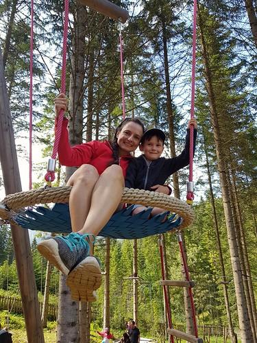Almpark Teichalm, ein super Ausflugsziel für die Familien.