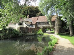 Pulls Ferry from the riverbank, Norwich, England (Paul McClure DC) Tags: norwich norfolk eastanglia england britain aug2017 scenery river wensum architecture historic