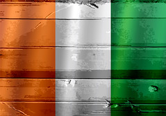 Ivory Coast flag (www.icon0.com) Tags: abstract aged ancient antique art background border canvas celebration cotedivoire country damaged design dirty effect flag freedom history icon illustration ivorycoast material moving national old painting paper patriotic pattern postcard retro revival rust satin sign silk symbol textile texture vintage vivid wall wallpaper wave weathered worn