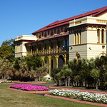 Maryborough. The Courthouse beside Queens Park. Built in 1877 thumbnail
