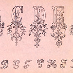 Embroidery samples, plate number 13 by Jose Guadalupe Posada (1852-1913). Original from Library of Congress. Digitally enhanced by rawpixel. thumbnail