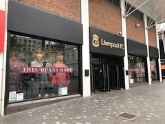 Liverpool Football Club Shop - Liverpool, England (firehouse.ie) Tags: merseyside fan shop liverpoolfc liverpool