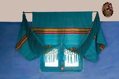 Farmhouse Window & Curtains (jarhtmd) Tags: africa morocco canon eos70d blue color window