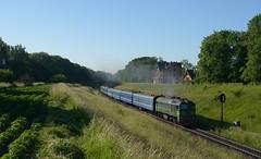 UZ M62 1603 Sykhiv train 606 from Rakhiv 29th May 2018 (Dunks railway pix) Tags: m62 m621603 сихів львів lviv sykhiv