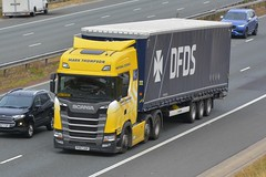 PO67 UOP (panmanstan) Tags: scania ng s500 wagon truck lorry commercial curtainsider freight transport haulage vehicle a1m fairburn yorkshire
