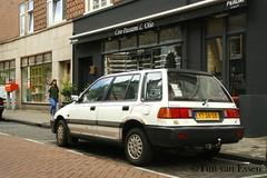 Honda Civic Shuttle - 1990 (timvanessen) Tags: yt36sb automatic automaat aut amsterdam