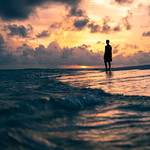 At sunset - Maldives - Travel photography thumbnail