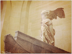 Winged Victory of Samothrace - Louvre (Claude M.D.) Tags: victory victoria vittoria alata winged alas ali wings wing estatua statua statue art calssic classical classico classica clasico clasica louvre parigi paris beauty beauté beaute belleza hermosura maravilla arte arts sculpture scultura