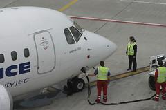 EI-CMY, Zurich, May 16th 2004 (Southsea_Matt) Tags: eicmy cityjet airfrance bae britishaerospace 146200 zurich kloten lszh zrh switzerland canon 10d may 2004 spring airplane aeroplane jetplane jet jetliner airliner aviation plane transport regionaljet