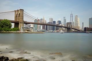 NYC - Brooklyn Bridge - East River