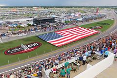 NASCAR Salutes at Daytona (Mark_Aviation) Tags: nascar salutes daytona international speedway coke zero sugar 400 beach florida american flag national anthem independance day 4th july 7th