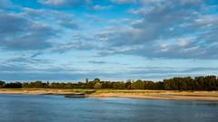 On the banks of the Loire (Sohmi ︎) Tags: paysdelaloire ancenis france french water eau fleuve arbres trees ciel sky nuages clouds borddeloire paysage nature color nikond810 tamronsp2470mm ©sohmi