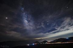 武嶺公路銀河 (Hong Yu Wang) Tags: sony a73 a7iii a7m3 1224g galxy taiwan night 合歡山 武嶺 mthehuan 天空 山