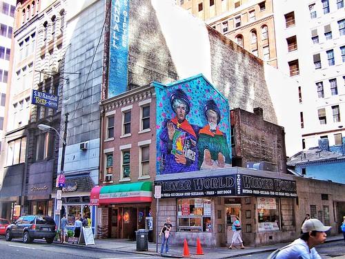 Pittsburgh Pennsylvania - Wiener World - 626 Smithfield Street - Historic District