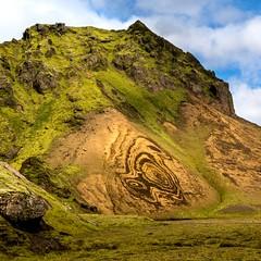 Oiseau de Thakgil, Islande (yvon.kerdavid) Tags: montagne dessin paysage islande thakgil vik érosion géologie