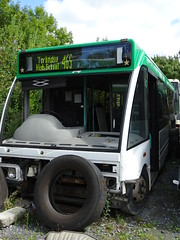 Target Travel SA02BZT (Explored) (Devon and cornwall Bus Spotter) Tags: target travel sa02bzt optare solo bus devon plymouth withdrawn spares scrap dead broken ltd