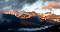 4N5A3274 (Mooney1908) Tags: jasper national park landscape nature canada canon mountain mountains summer 2018 august vacation clouds photography photo west earth beauty pine trees sunrise fog