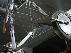 Voisin Type 8 Wheel Frame (Smithsonian National Air and Space Museum) Tags: aircraft voisintype8 frenchnightbomber france military worldwari ww1 airandspacephoto nationalairandspacemuseum biplane aviation